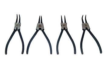 Набор щипцов для стопорных колец Сила - 175 мм (4 шт.) (310710)