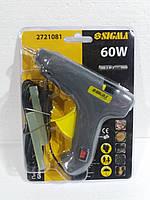 Пістолет термоклейовий d11,2мм 60Вт ТМ Sigma