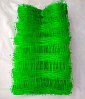 Сетка зеленая огуречная (шпалерная) 1,7х100 м.Ячейка 15х15 см.