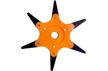 Диск для триммера - 6Т x 255 x 25,4 мм, сегментный