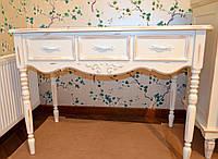 """Туалетный столик из массива дерева в стиле """"Прованс"""""""