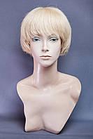 Натуральный парик №5,цвет классический блонд