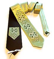 """Атласный галстук с вышивкой """"Злат"""""""