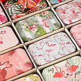 """Коробка, серия """"Влюбленность"""" 36 шт. в упаковке (074JH) жесть , фото 4"""