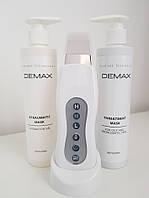 Ультразвуковой скрабер портативный BeautyPeel+ маска для открытия и закрытия пор DEMAX