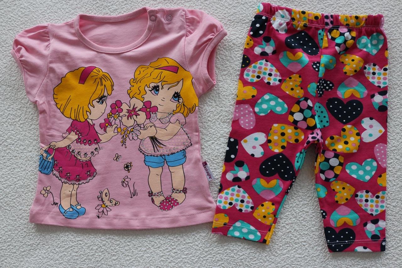 7bd213ffbfb Детская одежда оптом Турция.футболка+бриджи 1