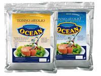 Тунец в подсолнечном масле Tonno All'olio semi di girasole Ocean 1 кг., фото 1