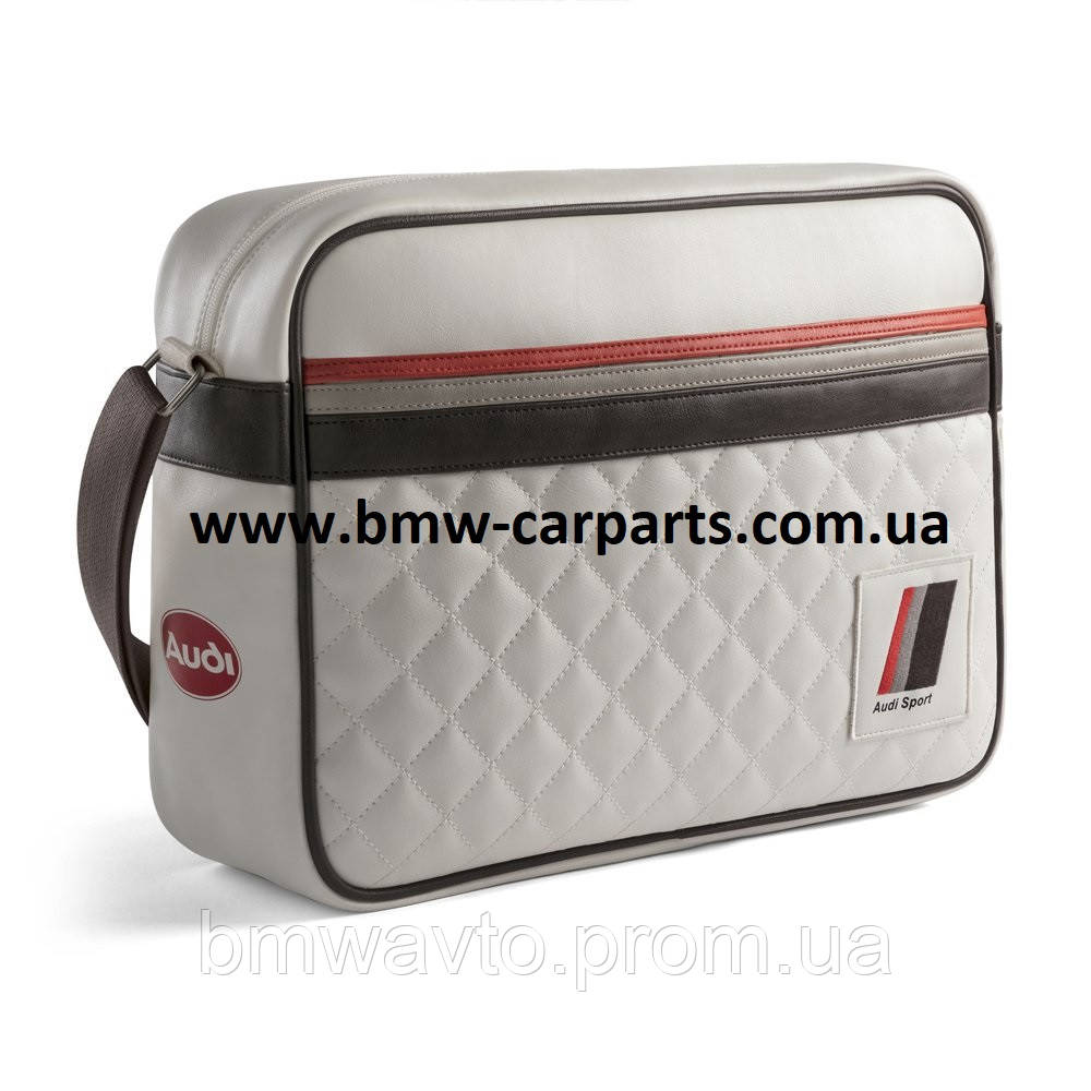 Наплечная сумка Audi Heritage Messenger Bag