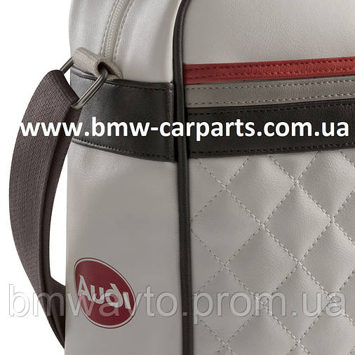 Наплечная сумка Audi Heritage Messenger Bag, фото 2