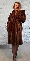 Шуба норковая двухсторонняя. Модель 200201984, фото 1