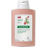 Клоран Шампунь для окрашенных волос с экстрактом Граната 200 мл