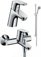 Hansgrohe Душевой набор для ванной FOCUS E2 (31730000+31940000+27763000)  31934000