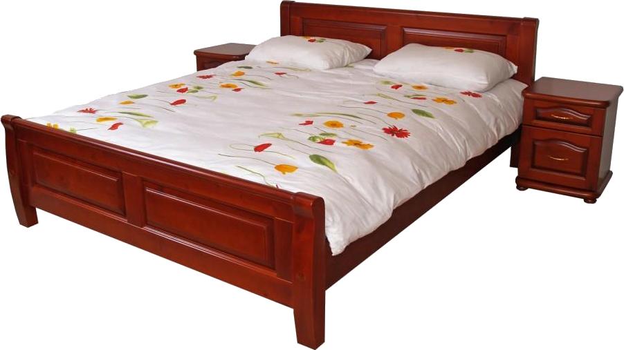 Кровать из натурального дерева Лана