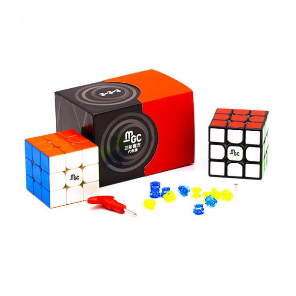 Кубик Рубика 3х3 MGC V2 (Magnetic) цветной MoYu