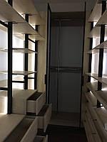 Гардеробная комната volpato, с шкафом зеркальным