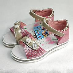 Детские босоножки сандалии сандали для девочки розовые розовые y.top 27р