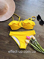 Купальник жёлтый анжелика , фото 1