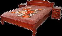 Кровать из натурального дерева Лагуна-2