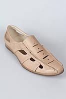 Летние мужские кожаные сандалии