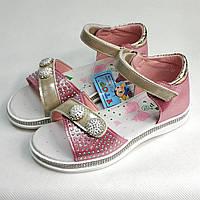 Детские босоножки сандалии сандали для девочки розовые розовые y.top 29р