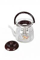 Чайник заварочный стеклянный TK 0038 (800 мл.)