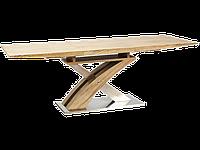 Стол обеденный деревянный Raul Signal дуб сонома