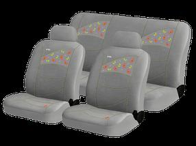 Чехлы на автомобильные сидения Hadar Rosen BUTTERFLIES Серый 10227