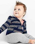 Ветровка + Штаны + Боди Carters на новорожденного мальчика 46-55 см. Костюм 3-ка, фото 2
