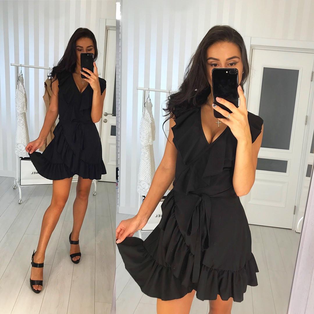 de5f89c8ea3 Маленькое черное платье лето 2019 - Интернет-магазин
