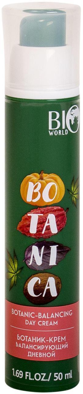Ботаник-крем балансирующий дневной для жирной и комбинированной кожи, 50мл