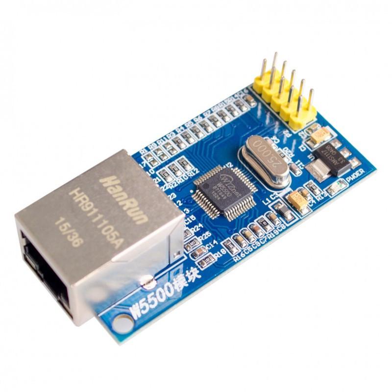 W5500 Ethernet RJ45 LAN Shield модуль Arduino
