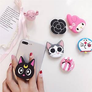 Попсокет PopSocket 3D ZucZug держатель для телефона (Серия коты)