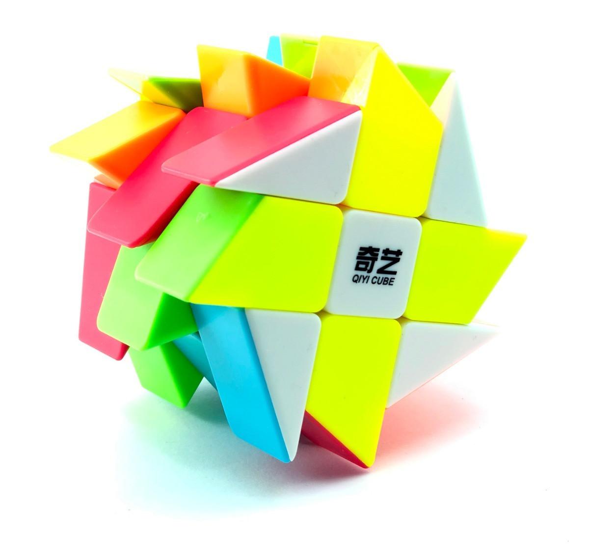 Кубик Рубика Мельница Windmill (цветной пластик) QiYi