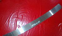 Накладка на задний бампер для Ford Focus 3, Форд Фокус 3