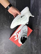 Мужские кроссовки Nike air max 720,сетка,белые, фото 2