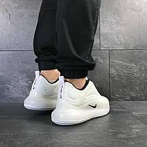 Мужские кроссовки Nike air max 720,сетка,белые, фото 3