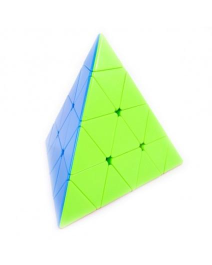 Пирамидка Рубика 4х4 Master Pyraminx (цветной пластик) QiYi