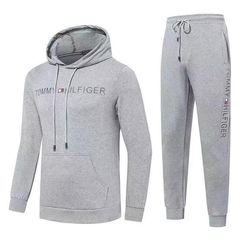 Спортивный костюм Tommy Hilfiger Cotton XXL Серый (88792)