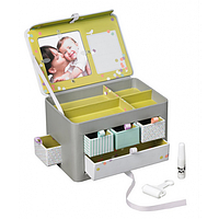 Памятная шкатулка ребенка с отпечатком ручки или ножки Baby Art Treasure Box