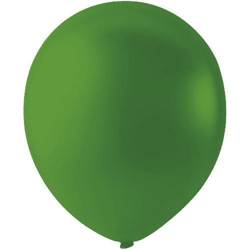 Кульки 12' пастель Мексика Latex Occidental 09 DARK GREEN темно-зелений (30 см), 100 шт