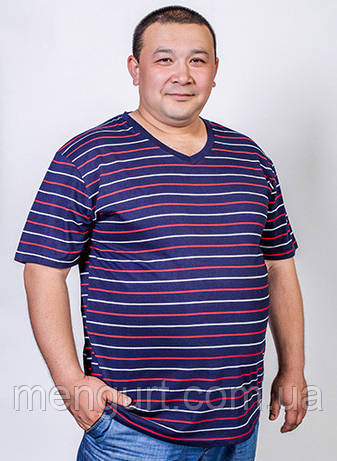 Футболка мужская Fazo-r БАТАЛ 100% хлопок Узбекистан, фото 2