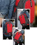 Рюкзак CYP спортивный красный, фото 5
