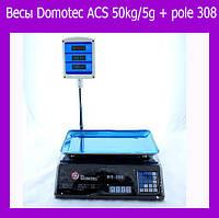 Весы Domotec ACS 50kg/5g + pole 308 (Только ящиком!)!Акция