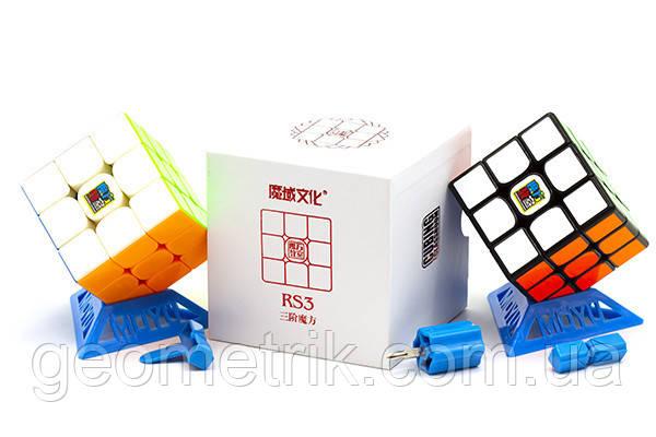Кубик Рубика 3x3 MoYu MF3 RS3 (подставка, отвёртка, 2 карточки) (цветной)(головоломка, профессиональный)