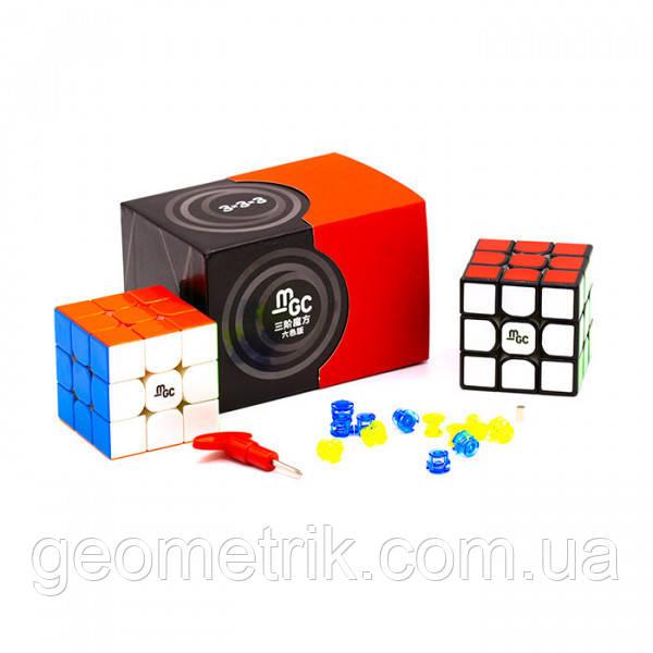 Кубик Рубіка 3х3 MGC V2 (Magnetic) кольоровий MoYu
