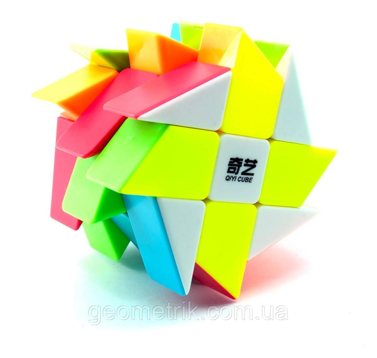Кубик Рубіка Млин Windmill (кольоровий пластик) QiYi