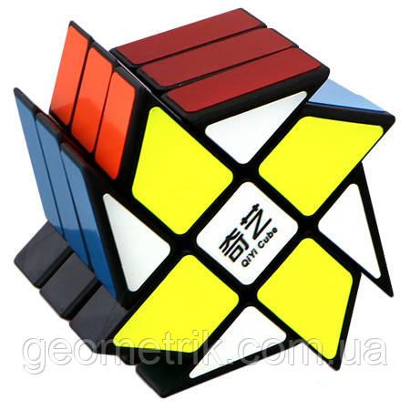 Кубик Рубика Мельница Windmill (чёрный пластик) QiYi