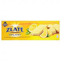 Чешские вафли Opavia Zlaté Oplatky  Лимон 146 г