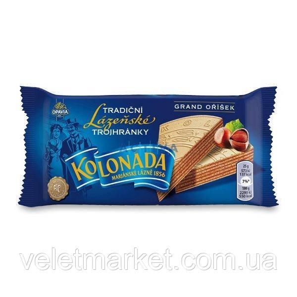 Курортные карловарские оплатки (вафли) Opavia Kolonada trojhranky ореховые 50 г