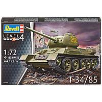 Сборная модель Revell Советский танк T-34/85 1:72 (3302)